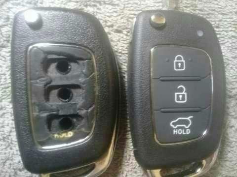 Carcasa de control remoto Hyundai Tucson 2014 - 0