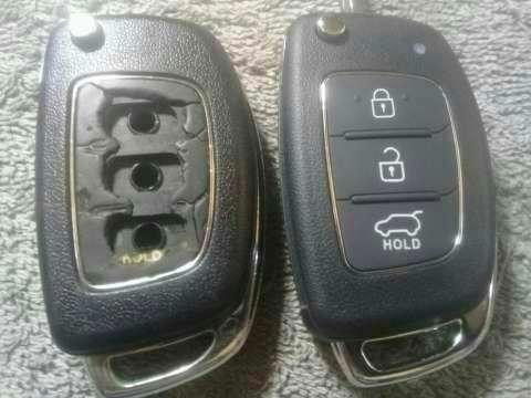 Carcasa de control remoto Hyundai Tucson 2014 - 2