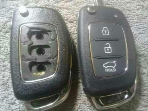 Carcasa de control remoto Hyundai Tucson 2014 - 3