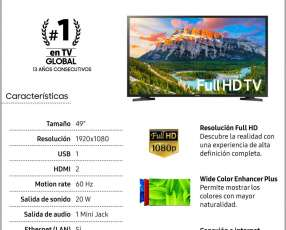 Smart tv Samsung de 49 pulgadas