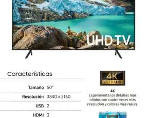 Smart tv Samsung de 50 pulgadas