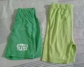 Shorts para niños
