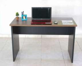 Escritorio secretaria 25mm 1.50 x 060 nogal negro