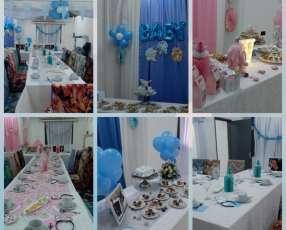 Servicio de baby shower o cumpleaños adulto