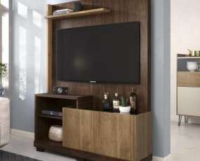 "Home Theater para TV até 55"" Sofine Havana/Buriti"