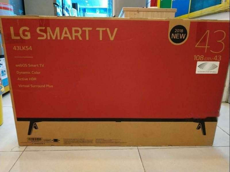 Televisor LG 43 pulgadas HD Smart - 0