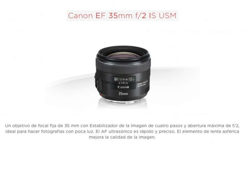 Lente Canon EF 35mm f/2 IS USM - 0