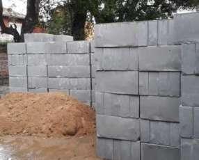Bloques de Concreto Celular Macizos