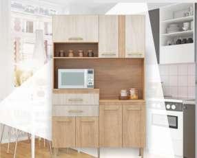 Kit de cocina dora 4 puertas naturalle
