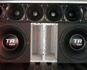 Caja doble Triton TR 620