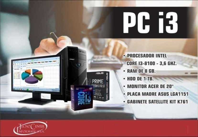 PC de Escritorio Intel Core i3 - 0
