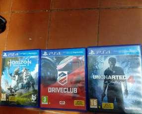 3 juegos de ps4
