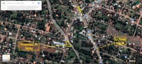 Terreno 906 m2 en esquina ruta 1 km 23