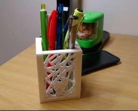 Porta lapices personalizados, organizador de escritorio