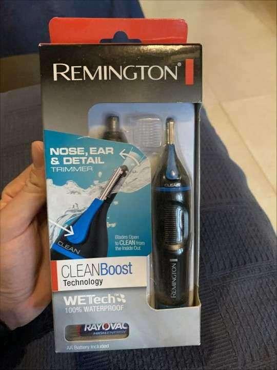 Afeitadora remington a pila, para nariz, oreja y ceja - 0