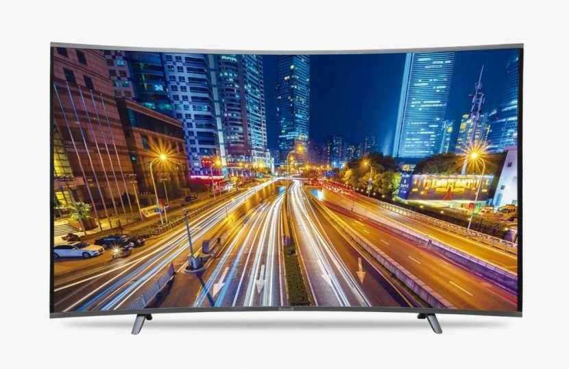 TV Smart Kiland 55 pulgadas 4K Curvo - 1