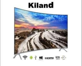 TV Kiland 75″ 4K Con 2 Controles Y Soporte De Pared