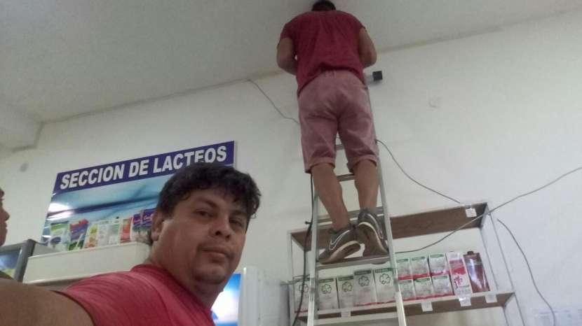 Reparación y mantenimiento de sistema de seguridad - 0