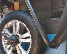 Balanceadora de neumáticos digital