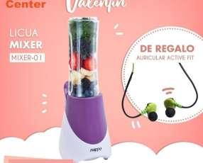 Licua mixer + auricular active