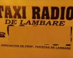 Parada de taxi Lambaré