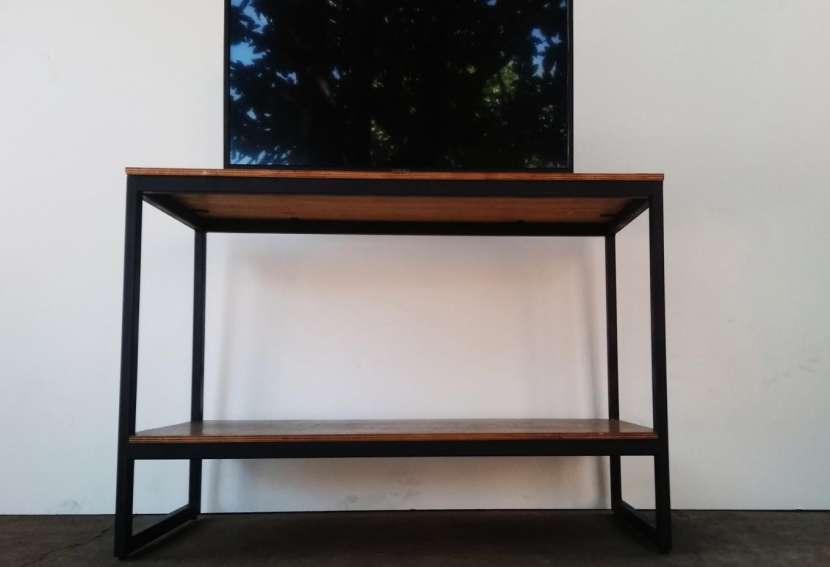 Mesa para TV Metal-madera - 1