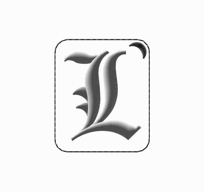 Parches bordados de Death Note - 2