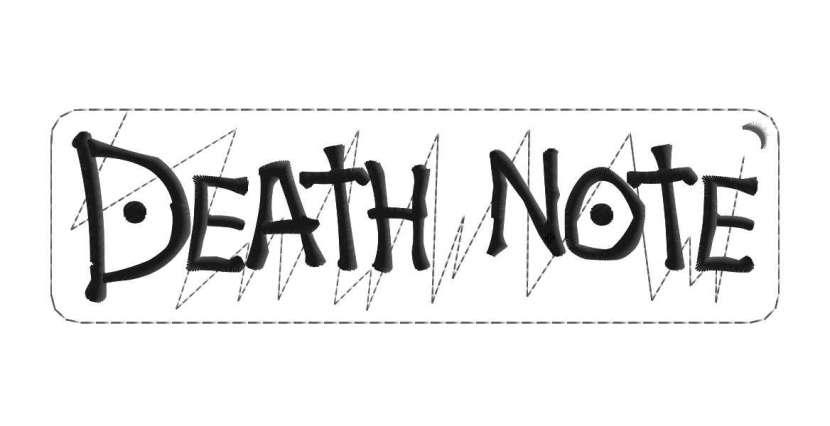 Parches bordados de Death Note - 3