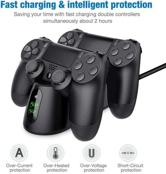 Base de carga para mando de PS4 - 1