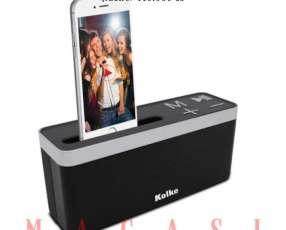 Altavoz Kolke Play Kpp-261 Sd / Usb / Fm / Bluetooth Negro