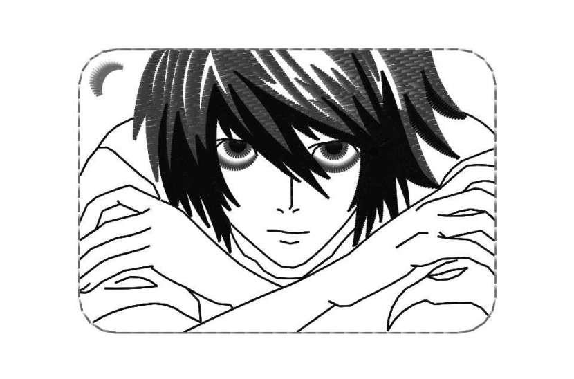 Parches bordados de Death Note - 1