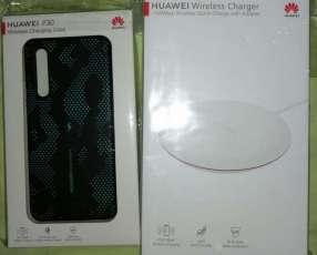 Cargador Huawei Wireless + Case wireless Charger para Huawei p30