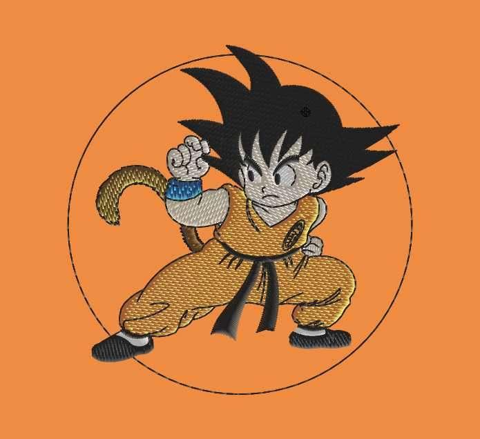 Parches bordados de manga y anime - 1
