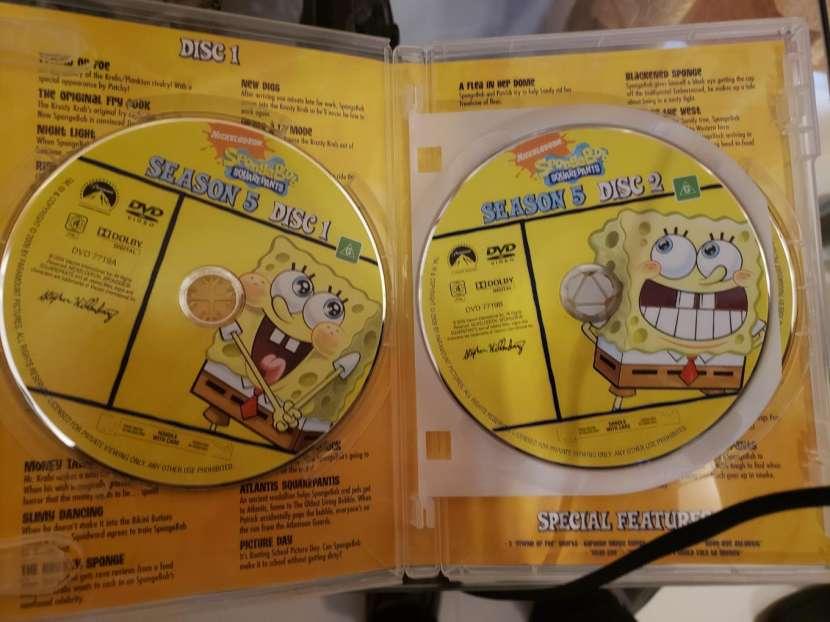Dvd original de bob esponja temporada 5 - 1