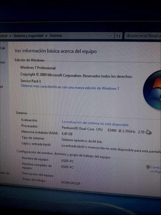 Pc Windows 7 con Office 2010 sin monitor - 2