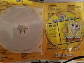 DVD original de Bob Esponja temporada 5