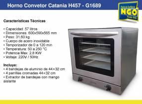 Horno convetor catiana h457