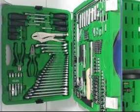 Caja de herramientas de 215 piezas