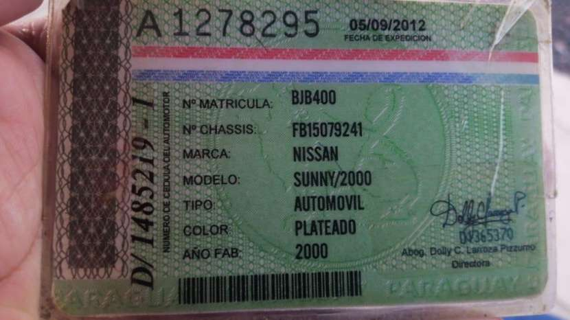 Nissan sunny 2001 - 9