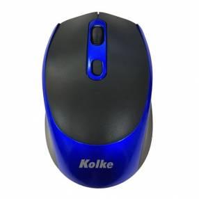 Mouse inalámbrico con batería recargable KEM-341 AZUL