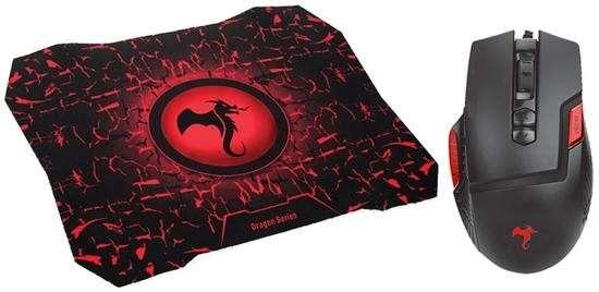 Kit mouse + pad mouse Fury KGK-349 - 0