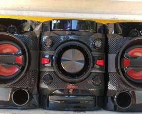 Equipo de sonido LG de 2600 watts