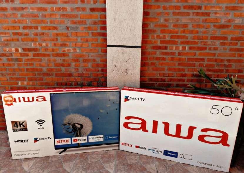 Smart tv Aiwa 50 pulgadas 4K - 0