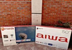 Smart tv 4k Aiwa 50 pulgadas