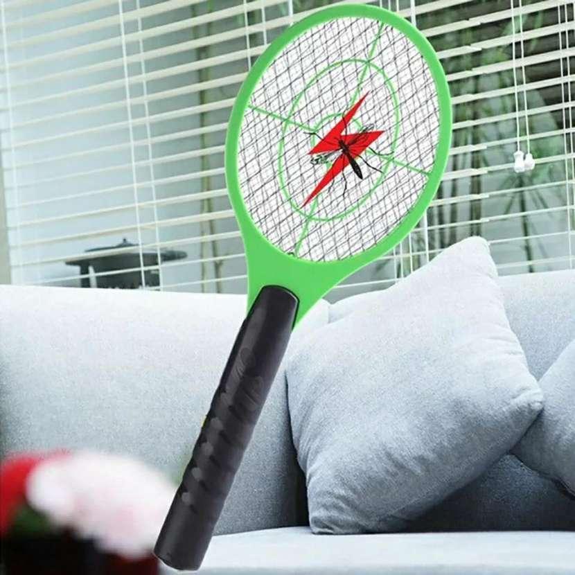 Raqueta eletrica mosquito - 1