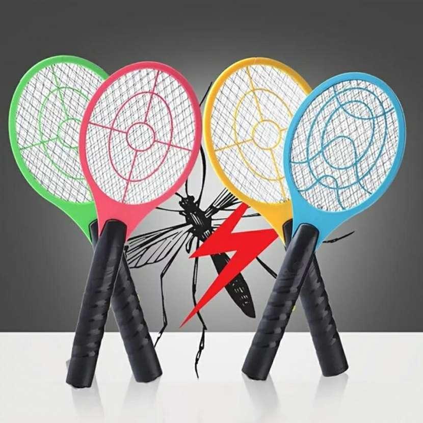 Raqueta eletrica mosquito - 2