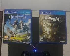 PS4 con 2 juegos