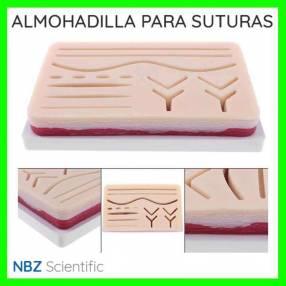 Almohadilla para práctica de suturas