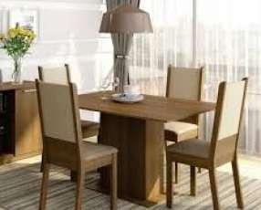 Juego de comedor Melisa 4 sillas