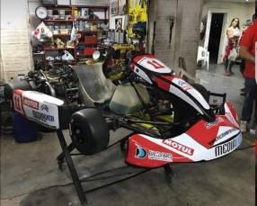 karting Riomar con motor Briggs straton
